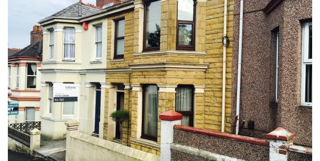 £750 per Calendar Month, 3 Bedroom House To Rent in Plymouth, PL4