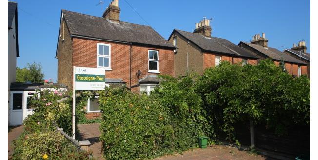 £1,525 per Calendar Month, 3 Bedroom Terraced House To Rent in Epsom, KT17