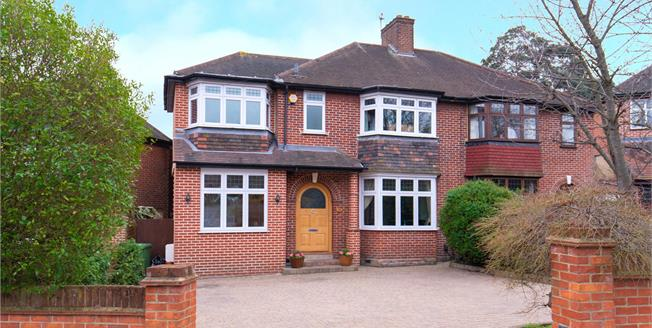 Asking Price £875,000, 4 Bedroom Semi Detached House For Sale in Woodford Green, IG8