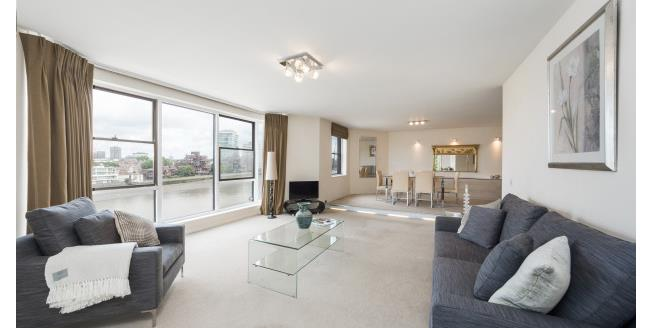 £4,311  per Calendar Month (Calculated), 3 Bedroom Apartment To Rent in Nine Elms, SW8