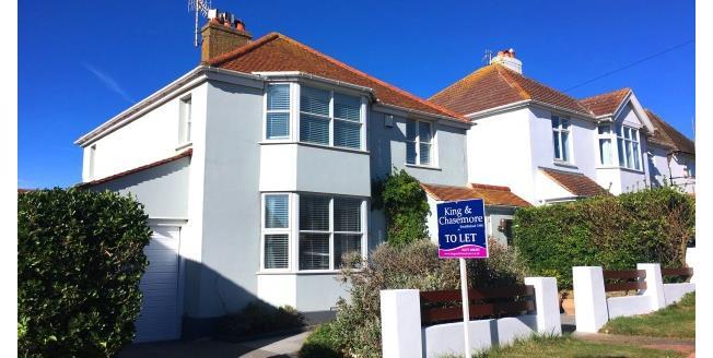 £1,750 per Calendar Month, 3 Bedroom Detached House To Rent in Rottingdean, BN2