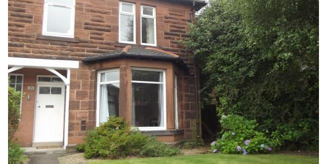 £1,100 per Calendar Month, 3 Bedroom Semi Detached House To Rent in Glasgow, G14