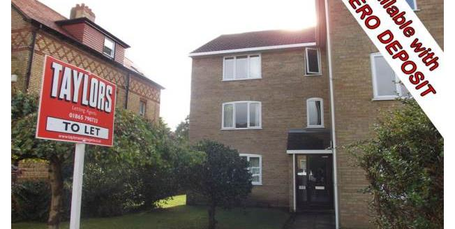 £1,150 per Calendar Month, 2 Bedroom Apartment To Rent in Oxford, OX2