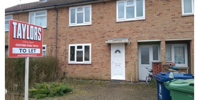 £1,400 per Calendar Month, 3 Bedroom House To Rent in Oxford, OX4