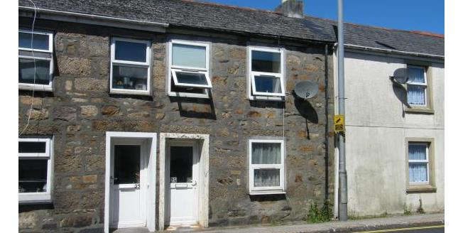 Guide Price £75,000, 2 Bedroom Terraced House For Sale in Camborne, TR14