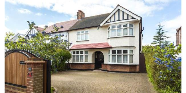Asking Price £1,450,000, 4 Bedroom Semi Detached House For Sale in E18