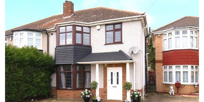 Offers in excess of £550,000, 3 Bedroom Semi Detached House For Sale in Ilford, IG5