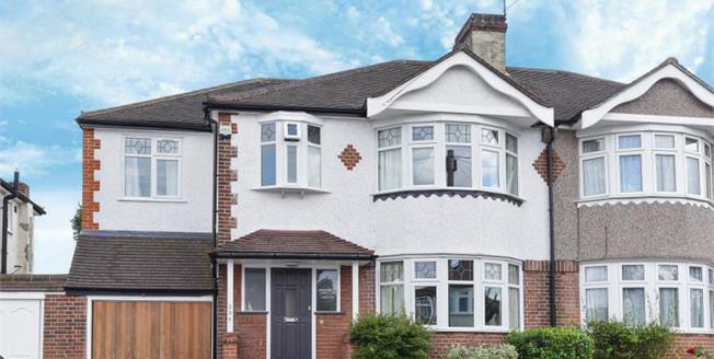 Asking Price £650,000, 5 Bedroom Semi Detached House For Sale in Croydon, CR0