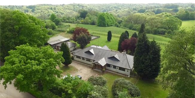 Asking Price £1,750,000, 5 Bedroom Detached House For Sale in Westerham, TN16