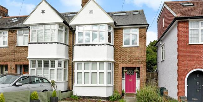 Guide Price £600,000, 4 Bedroom Semi Detached House For Sale in Chislehurst, BR7