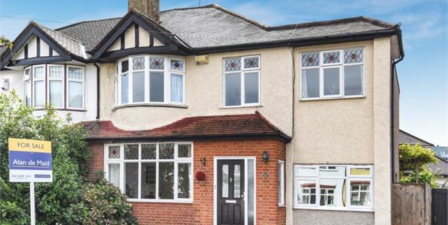 Asking Price £725,000, 4 Bedroom Semi Detached House For Sale in West Wickham, BR4