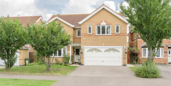 Guide Price £550,000, 4 Bedroom Detached House For Sale in Caldecotte, MK7