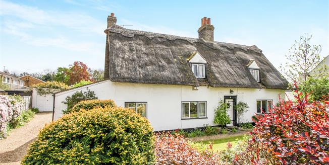 Guide Price £450,000, 3 Bedroom Detached House For Sale in Cambridgeshire, CB24