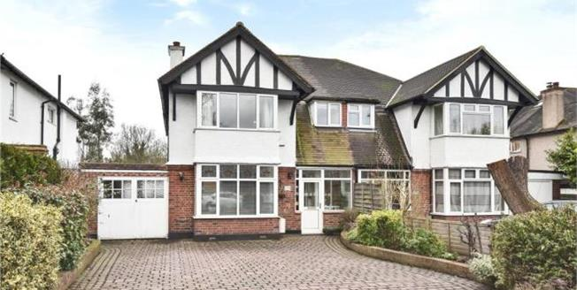 Asking Price £925,000, 4 Bedroom Semi Detached House For Sale in Beckenham, BR3