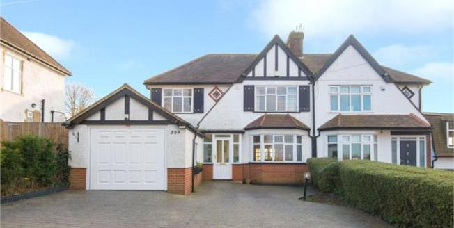 Asking Price £749,950, Semi Detached House For Sale in Hertfordshire, EN7