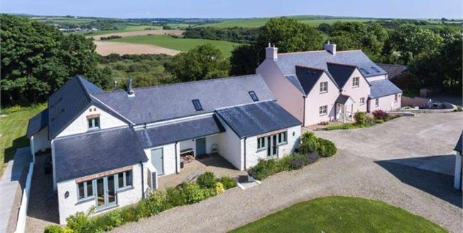 Offers in the region of £875,000, 8 Bedroom Detached House For Sale in Dwrbach, SA65