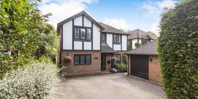 Offers in excess of £835,000, 4 Bedroom Detached House For Sale in Lightwater, GU18