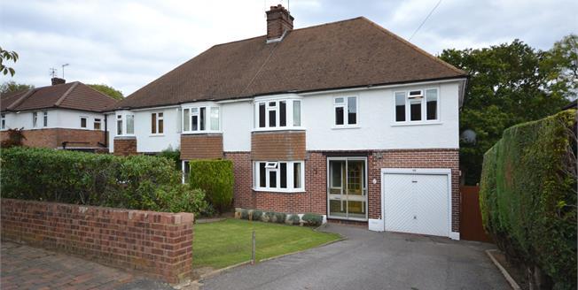 Guide Price £625,000, 4 Bedroom Semi Detached House For Sale in Tunbridge Wells, TN4