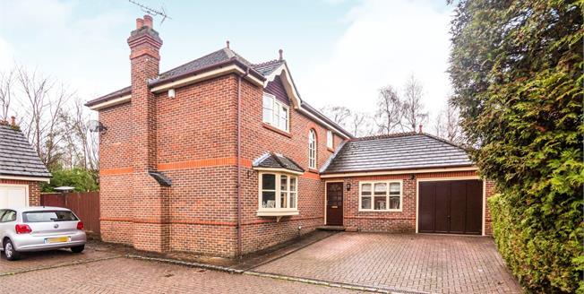 Asking Price £775,000, 4 Bedroom Detached House For Sale in United Kingdom, GU18