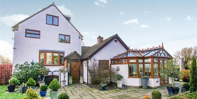 Guide Price £650,000, 4 Bedroom Detached House For Sale in Woolaston, GL15