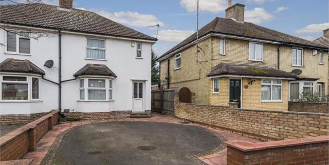 Asking Price £450,000, 2 Bedroom Semi Detached House For Sale in Cambridgeshire, CB4