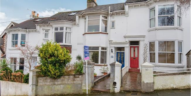 Offers Over £450,000, 3 Bedroom Terraced House For Sale in Brighton, BN2
