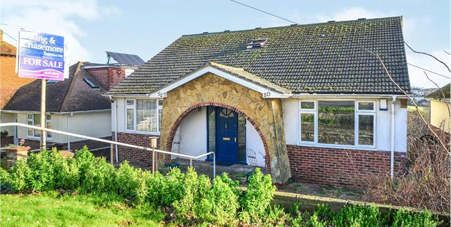 Guide Price £600,000, 5 Bedroom Detached House For Sale in Saltdean, BN2