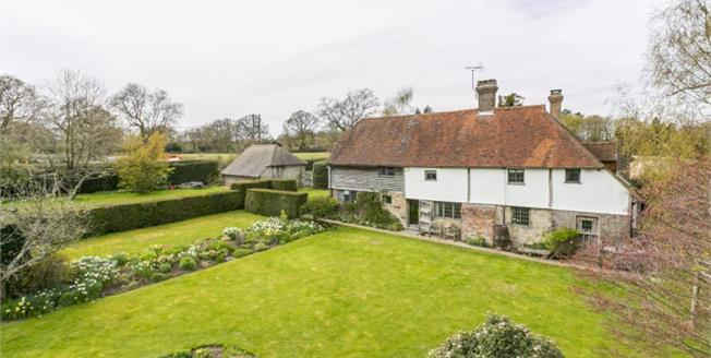 Guide Price £1,200,000, 5 Bedroom Detached House For Sale in Crowborough, TN6
