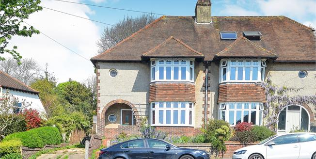 Asking Price £625,000, 3 Bedroom Detached House For Sale in Brighton, BN1
