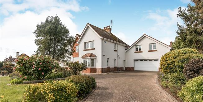 Guide Price £995,000, 5 Bedroom Detached House For Sale in Budleigh Salterton, EX9