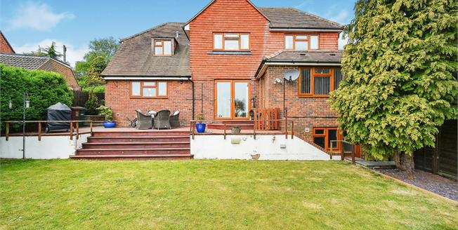 Asking Price £850,000, 5 Bedroom Detached House For Sale in Brighton, BN1