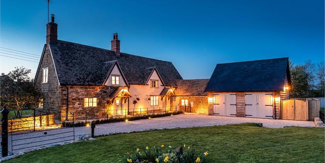 Guide Price £1,250,000, 3 Bedroom Detached House For Sale in Oxhill, CV35