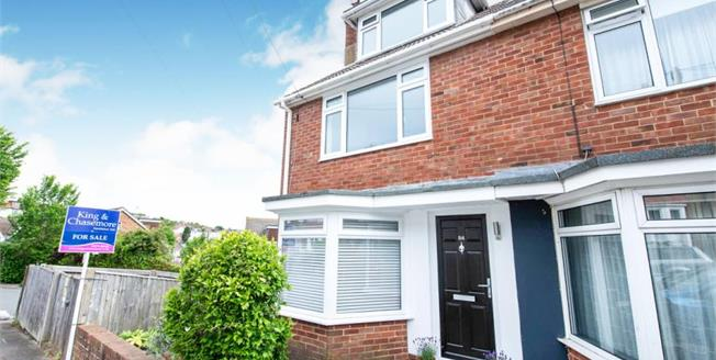 Guide Price £600,000, 3 Bedroom Semi Detached House For Sale in Brighton, BN1