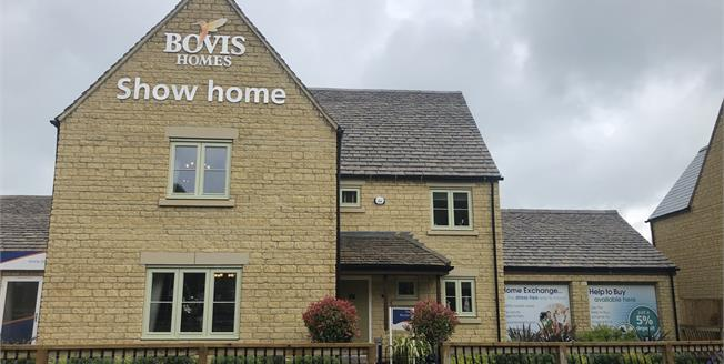 Guide Price £540,000, Detached House For Sale in Gloucestershire, GL56