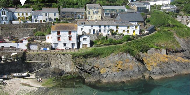 Guide Price £535,000, 3 Bedroom Detached House For Sale in Portloe, TR2