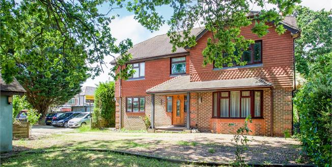 Asking Price £550,000, 5 Bedroom Detached House For Sale in Waterlooville, PO7