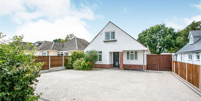 Guide Price £625,000, 5 Bedroom Bungalow For Sale in Burton, BH23