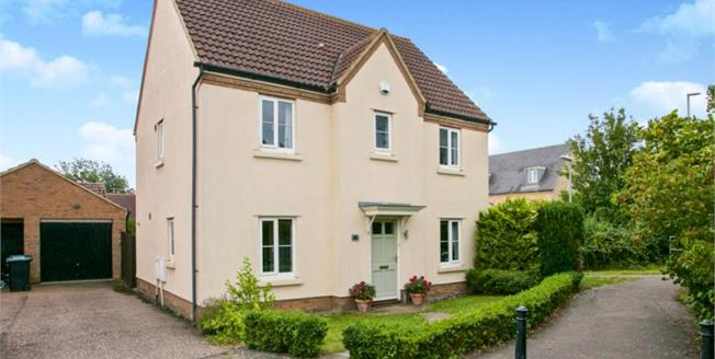 Asking Price £425,000, 4 Bedroom Detached House For Sale in Cambridgeshire, CB6