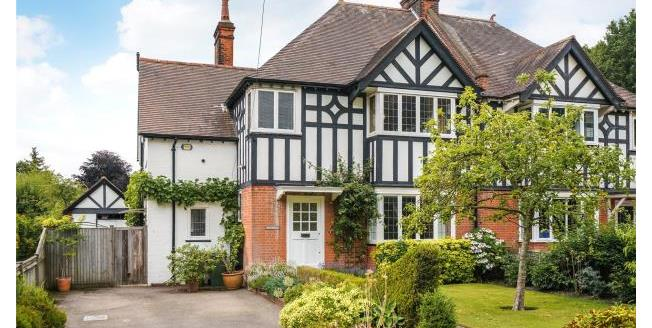 Asking Price £1,200,000, 4 Bedroom Semi Detached House For Sale in Surrey, KT22