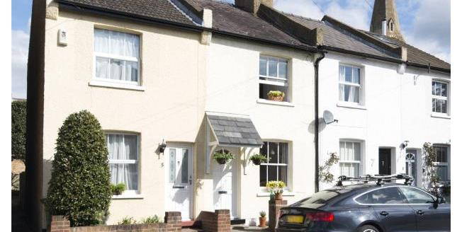 Guide Price £525,000, 2 Bedroom Terraced House For Sale in Surrey, KT10