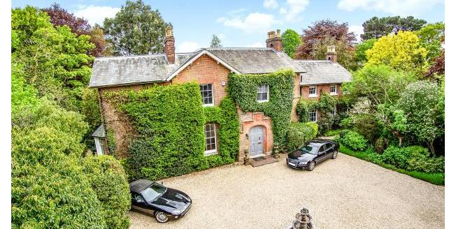 Guide Price £2,800,000, 6 Bedroom Detached House For Sale in Hampshire, SO41
