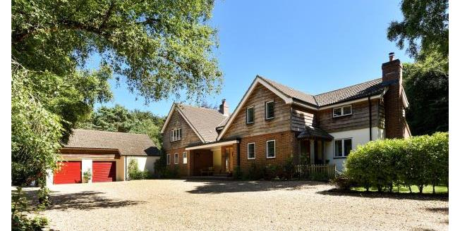 Guide Price £2,450,000, 6 Bedroom Detached House For Sale in Hampshire, SO41