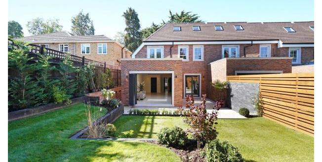 Asking Price £1,450,000, 4 Bedroom End of Terrace House For Sale in Surrey, KT13