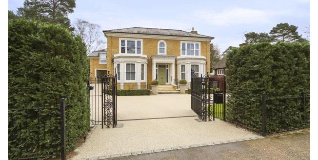 Asking Price £3,950,000, 5 Bedroom House For Sale in Surrey, KT13