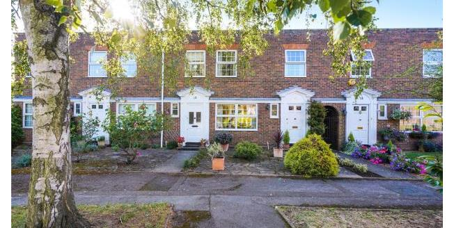 Asking Price £549,500, 3 Bedroom Terraced House For Sale in Surrey, KT13
