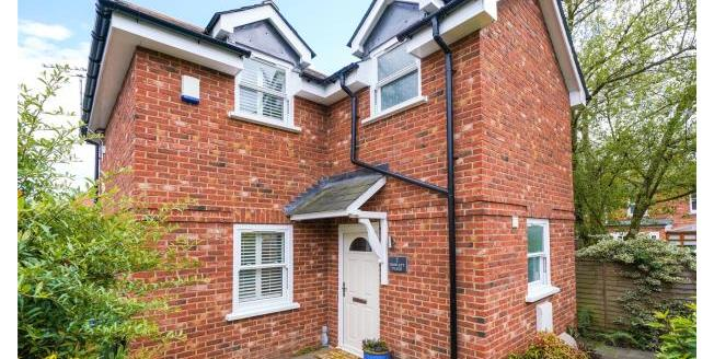 Asking Price £535,000, 2 Bedroom Detached House For Sale in Surrey, KT13