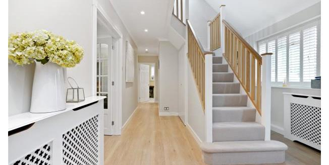 Guide Price £945,000, 4 Bedroom Detached House For Sale in Surrey, KT13
