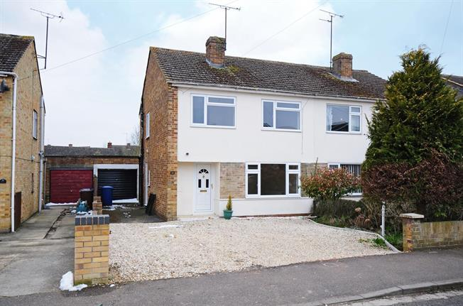 £950 per Calendar Month, 3 Bedroom Semi Detached House To Rent in Twyford, OX17