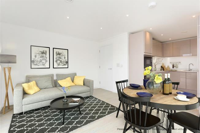 £1,200 per Calendar Month, 1 Bedroom Flat To Rent in Hove, BN3