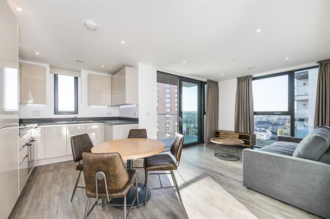 £1,563 per Calendar Month, 2 Bedroom Apartment To Rent in Sutton, SM1